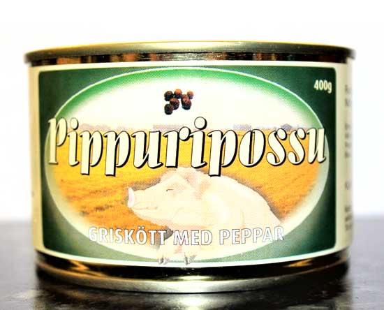 Rantalan Lihan pippuripossun täyslihasäilyke