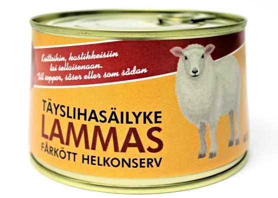 Rantalan liha - Lampaan täyslihasäilyke
