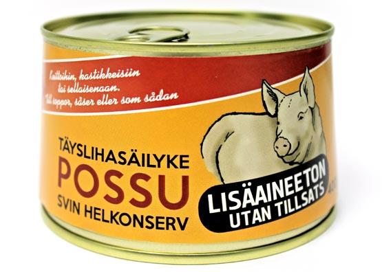Rantalan Liha - Lisäaineeton possun täyslihasäilyke